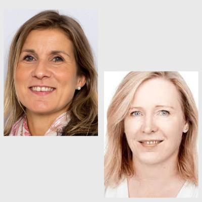 Anja Schou Lindman og Birgitte Freiesleben de Blasio