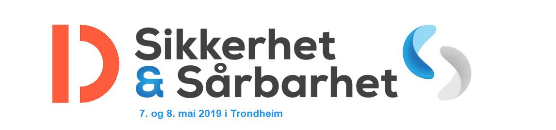 Sikkerhet og Sårbarhet 2019 - 7. og 8. mai i Trondheim